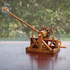 Leonardo Da Vinci Designer Catapult Model