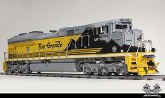 Union Pacific EMD Ace Locomotive in Lego, scaled Lego Machines, Lego Ship, Lego Trains, Rail Car, Lego Models, Lego Projects, Lego Technic, Cool Lego, Lego Pieces