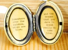 Hey, I found this really awesome Etsy listing at https://www.etsy.com/listing/181275574/wizard-of-oz-quote-womens-locket