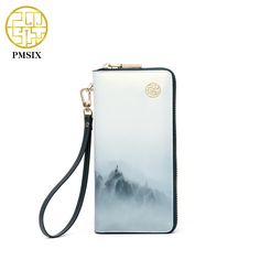 Aliexpress.com : Buy PMSIX 2017 New Split Leather Women Wallets Printing High Quality Cell phone Card Holder Long Vintage Ladies Wallet Purse 420067 from Reliable ladies wallet purse suppliers on Pmsix Official Store