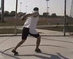 How to Perform the Walking Throw Drill for the Discus Throw via www.wikiHow.com
