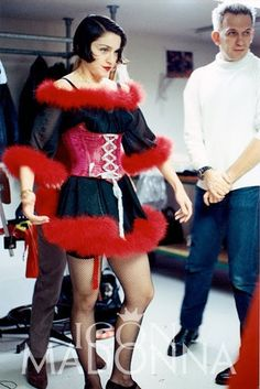 WE ♥ JEAN PAUL GAULTIER Blond Ambition Costume Fitting with Madonna & Jean Paul Gaultier. www.imageamplified.com, Image Amplified (9)