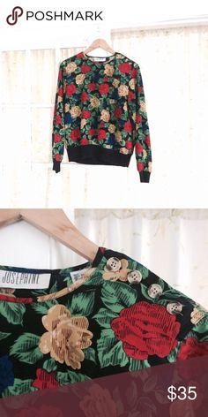 Fantastic vintage floral shirt Lovely light fabric josephine Tops Blouses