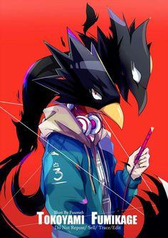 Boku no Hero Academia || Fumikage Tokoyami, #mha