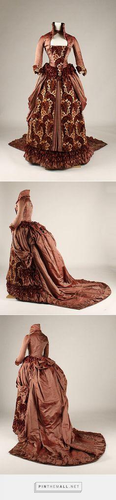 Dress ca. 1879 American   The Metropolitan Museum of Art