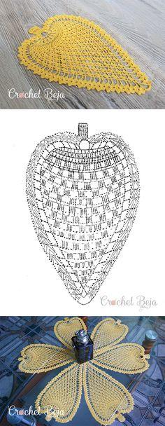 Pineapple Motif Lace Crochet Free Pattern Tutorial