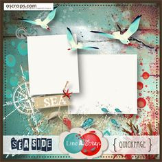 Sea Side {QuickPage} - Free by Line A. Scrap