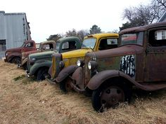 Rusty old trucks,that''s haven for me lol