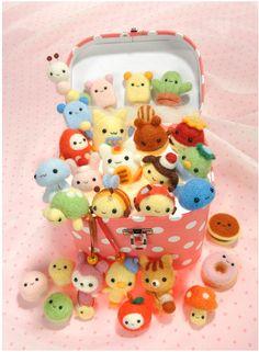 Mascottes artisanat japonais livre de feutre de par PinkNelie