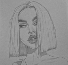 Maggie Lindemann – – Voleta P. Maggie Lindemann – – Voleta P. Cool Art Drawings, Pencil Art Drawings, Art Drawings Sketches, Drawing Faces, Easy Drawings, Drawing Ideas, Tumblr Sketches, Drawing Girls, Woman Drawing
