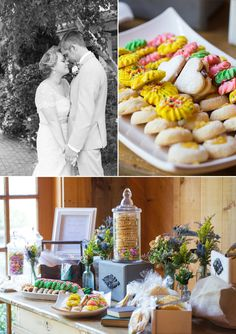 Wedding Table Desserts | #Maggiebride Jade wore Chesney by Maggie Sottero at her retro spring wedding at the Red Lion Inn in Cohasset, MA | Michelle Girard Photography
