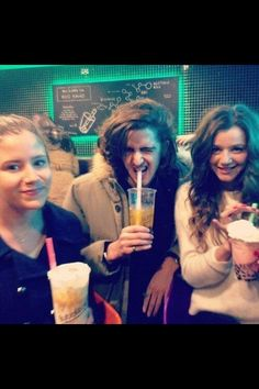Eleanor, Max and another friend