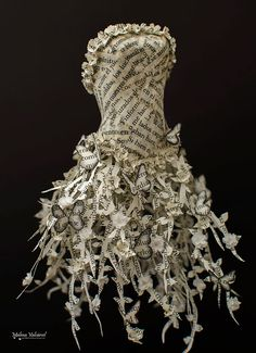 Image result for paper dress