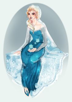 Elsa by CigarsCigarettes on DeviantArt Olaf Frozen, Disney Frozen, Frozen Movie, Snow Queen, Ice Queen, Frozen Fan Art, Frozen Characters, Disney Kunst, Princess Art
