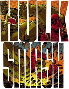 Hulk Smash Deadpool!
