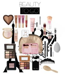 """""""Going to paris"""" by eliyanakubelis on Polyvore featuring beauty, Too Faced Cosmetics, Sweet and Sour, Power of Makeup, Maybelline, Bobbi Brown Cosmetics, Givenchy, Lime Crime, Casetify and Anna Sui"""