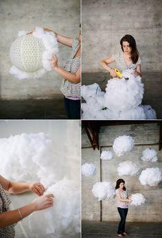 Decora con nubes gigantes y vive tu boda de ensueño. | 17 Ideas divertidas para tener un boda inolvidable