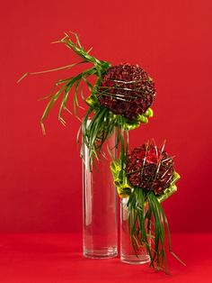 SOME MODERN POWER RED ROSES  ERIC BUTERBAUGH FLOWER DESIGN