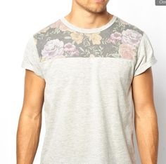 Sublimation on only top part of T-Shirt