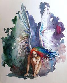 Watercolor — 2013, 50х60