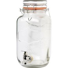 Perfect for signature mixed drinks - easy for self-serve