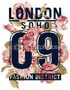 소호 런던 장미