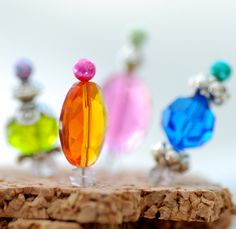 Beaded Thumbtacks for your Corkboard or Jewelry Display, Pushpins