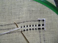 : The long-awaited second stage of the SAL Citta Part Border Embroidery Designs, Embroidery Patterns, Hardanger Embroidery, Cross Stitch Embroidery, Hem Stitch, Hand Embroidery Flowers, Drawn Thread, Embroidery Needles, Embroidery Techniques