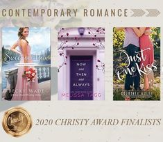 I was so happy and honored to learn about Sweet on You's nomination. What an encouragement! (It was extra wonderful for my book to be nominated alongside books written by two of my friends.) #writing #awards #sweetromance #contemporaryromance