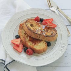 Spiced Latte French Toast