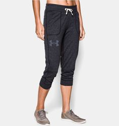 Shop Under Armour for Women's UA Charged Cotton® Tri-Blend Capri in our Womens Bottoms department.  Free shipping is available in US.