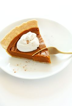 Vegan Gluten Free Pumpkin Pie | Minimalist Baker Recipes