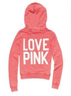Signature Zip Hoodie - Victoria's Secret Pink® - Victoria's Secret