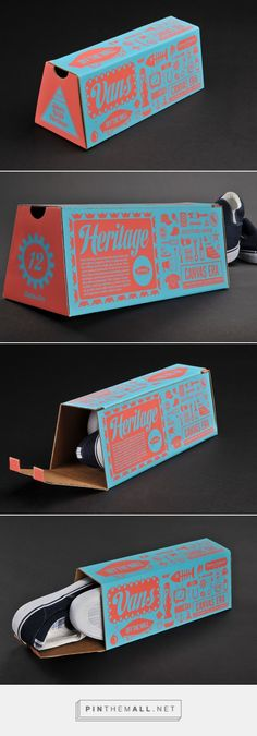 Vans Shoebox design by Nate Eul: Label Design, Box Design, Package Design, Graphic Design, Typography Design, Branding Design, Brand Packaging, Packaging Ideas, Pretty Packaging