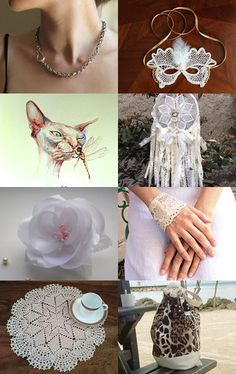 White Gifts by carole on Etsy--Pinned with TreasuryPin.com