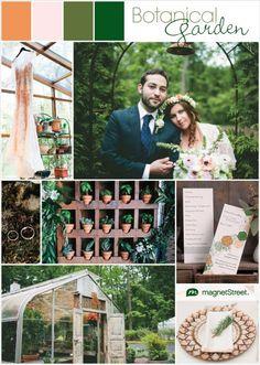 Gorgeous botanical garden wedding inspiration