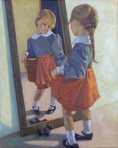 Reflection Art, Reflection Photography, Mirror Painting, Mirror Art, Mirrors, Art Alevel, Ap Art, Art Portfolio, Art Sketchbook