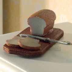 Bread, Knife & Board Check out: missdollhouse.com