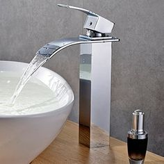 Wasserhahn Gäste Wc hiendure vendimia latón cascada grifos de grifo lavabo