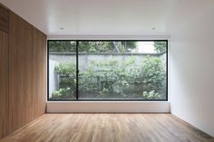 located in a quiet residential area of tokyo, 'house in daizawa', designed by nobuo araki / the archetype, features a delineating concrete wall. Minimalism Interior, House Design, House, Home, Interior Architecture, Door Glass Design, Home Design Plans, Japanese Home Decor, Asian Home Decor