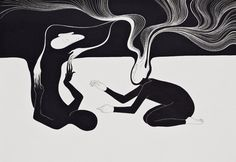 I always go back to me. Moonassi drawing, Daehyun Kim (Illustration)