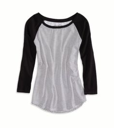 My host-sissy brought this over for me lat night, like it soo much! AE Striped Baseball T-Shirt