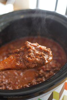 Crockpot Bolognese Sauce--