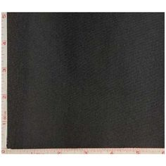 Product Image: Black 1x1 Rib Fabric 2 Way Stretch Combed Ring Spun, Cprs Cotton 9 Oz 58-60""