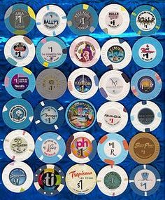 Set of 30 Las Vegas Strip Casino Chips  check out these cool chips