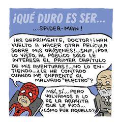 El eterno retorno de Spiderman. En el #Psicologo