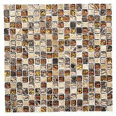 Mosaikfliese Quadrat Crystal Mix XCM M790 (30 x 30 cm, Beige, Glänzend) Bauhaus, Enorm, Products, Environment, Embellishments, Stones, Gadget