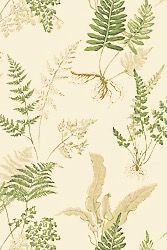 Thibaut stunning Fern print wallpaper #thibaut #leafwallpaper For this and other inspiration visit my fabric and wallpaper blog:  patternspy.com