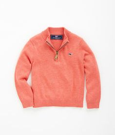 Shop Pullovers: Harbor Point 1/4-Zip Sweater for Boys | Vineyard Vines