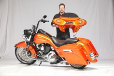 Detachable Frontfairing with TUEV/ABE for Harley-Davidson® Road-King + Softail; Dyna Switchback  Made in Germany;  more information:  http://www.maxomation.de